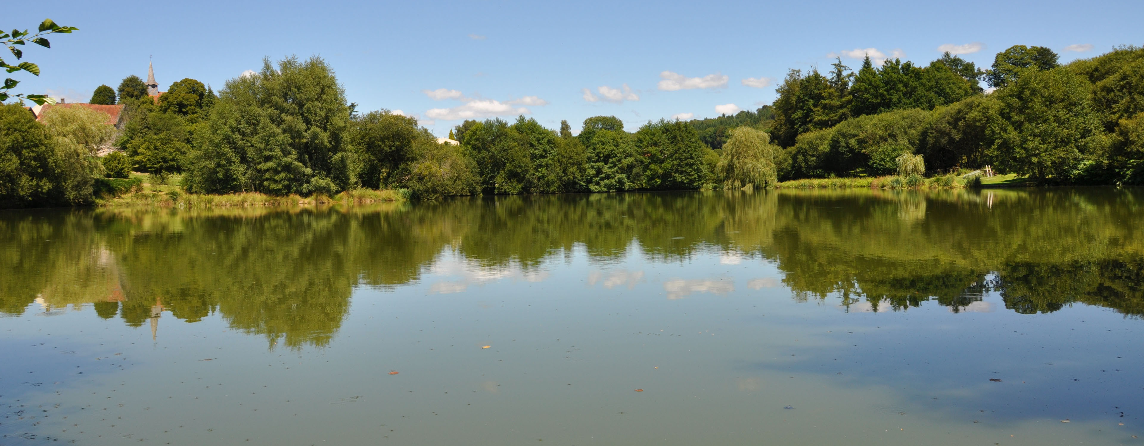 Photo gallery images of carp and fishing lake in France, Etang de Azat-Chatenet